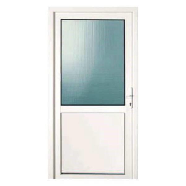 Porte demi vitr e d p t menuiserie for Porte interieure vitree pvc